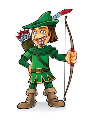 Robin Hood Rückenköcher
